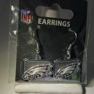 Philadelphia Eagles State NFL Earrings NEW